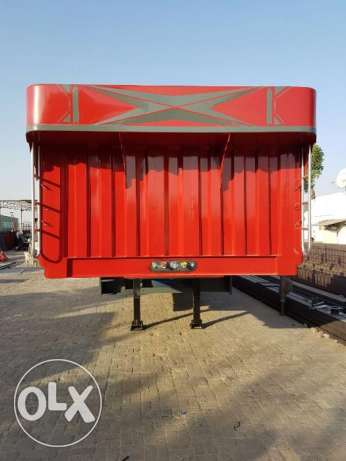 new 3 axle trailer flat bed with warranty of chassis