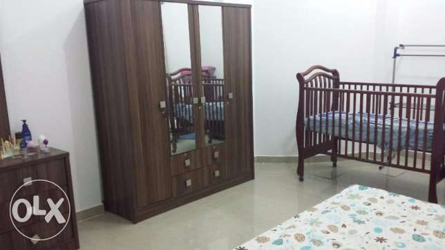 Wooden baby bed Juniors (without mattress) سرير أطفال