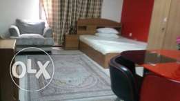 Studio one room full furnished in fareg abd azez