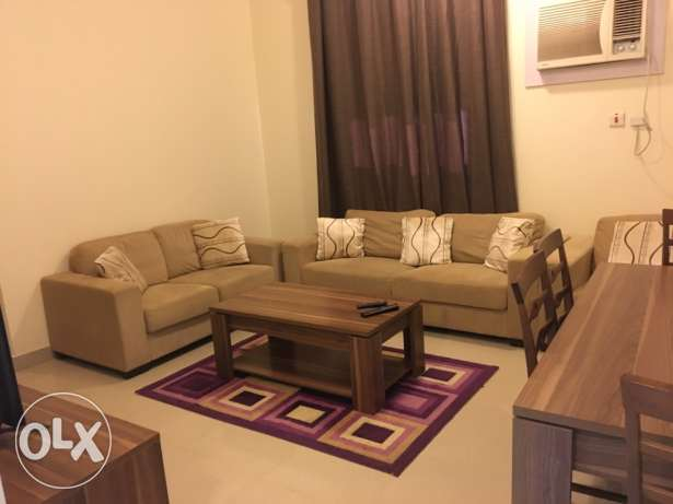 fullfurnished 1 bhk flat aprtmnt available at old al ghanim for family