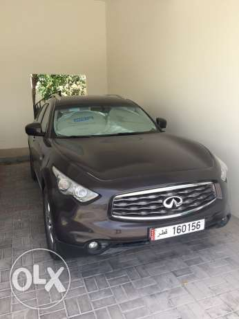 Infiniti FX35, Dark Brown color