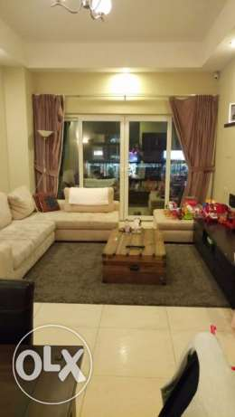 NO COMMISSION - 7,000 QAR - 2 bed/3bath semi furnished - EXCELLENT
