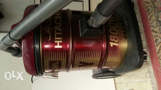 Hitachi vacuum cleaner 1800W