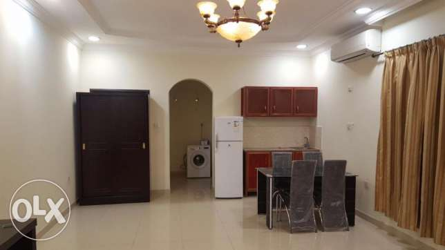 fully furnished studio available in du hail.