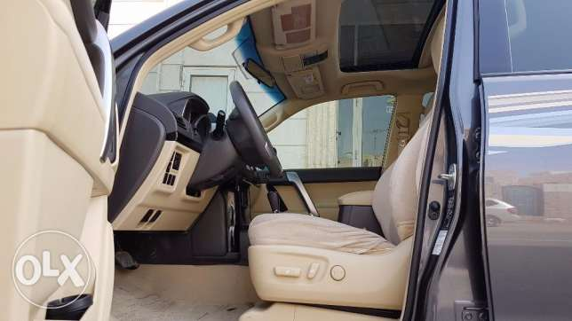 Toyota Prado 2015full option driven by Lebanese lady
