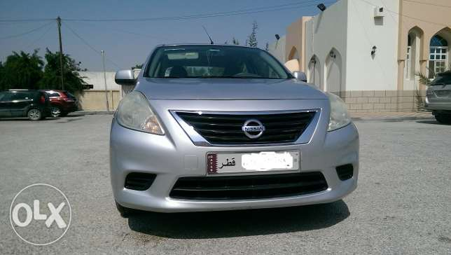 Nissan Sunny 2012 model, 39000 K.M, Registered up to Feb' 18 for sale.