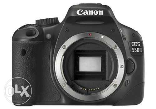 Used Canon 550D body only no lens ( Body made in Japan)