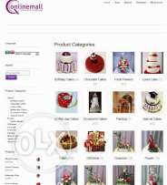Online Shop Website for Sale