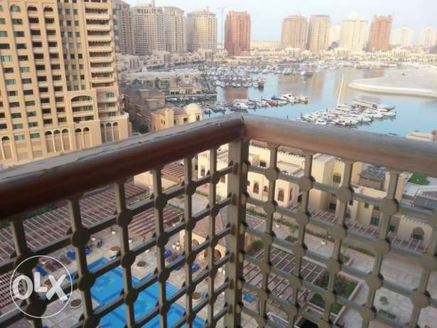 For rent big size nice fully furnished 2 bedroom apartment the pearl