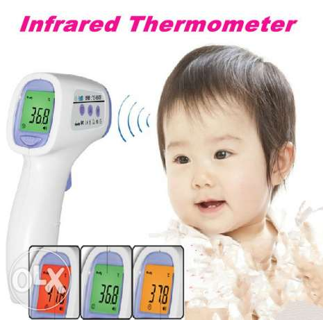 Generic Non Contact Infrared IR Thermometer Temperature Laser Gun Poin عين خالد -  1