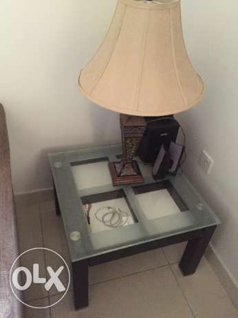 2 side tables and 1 middle table for sale