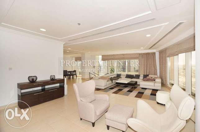 Fully Furnished Duplex with City views