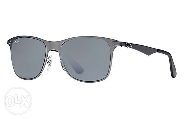 Sunglasses. Ray ban wayfarer flat metal المطار القديم -  3