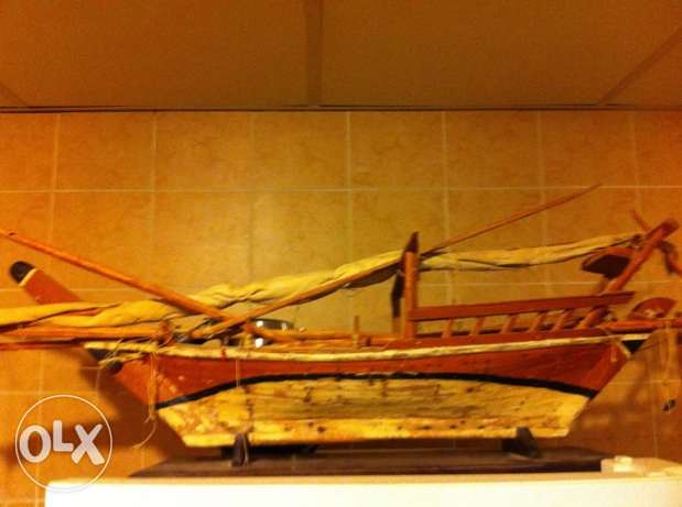Wooden Ship 1 Meter Long