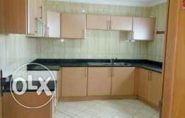 UNFURNISHED 3B/R flat in binmahmoud
