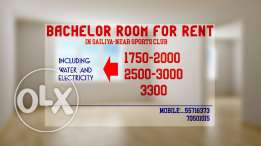 rooms for exicutive bachelors