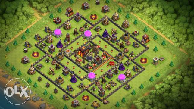 Clash of clans th10for sale