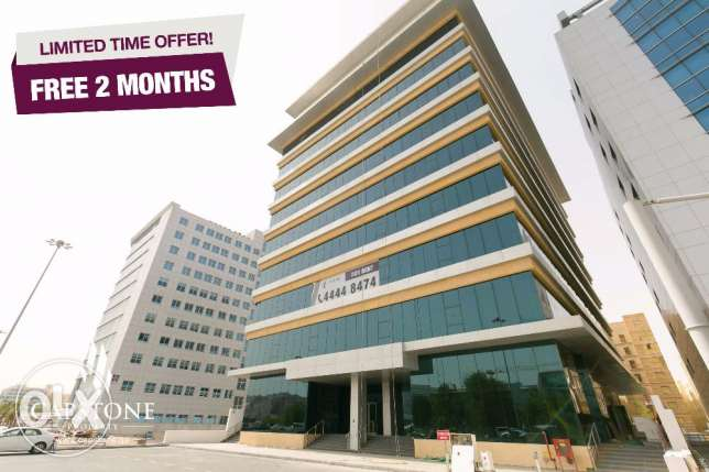 FREE 2 MONTHS RENT, Al Sadd Brand New Office Spaces