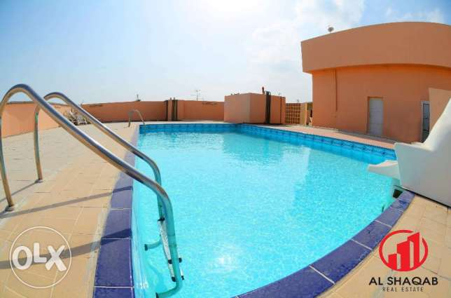Deluxe 3BHK with Balcony & Swimming Pool