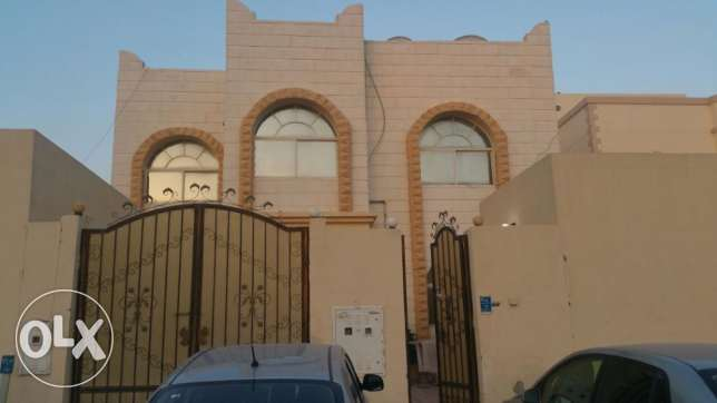 UNF 1-bhk part of villa for rent in abu hamour أبو هامور -  1