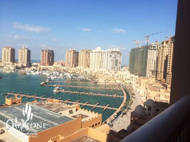 Full Marina View, 3BR Apartment For Sale at Porto Arabia الؤلؤة -قطر -  4