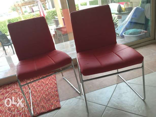 Red ID Design chairs