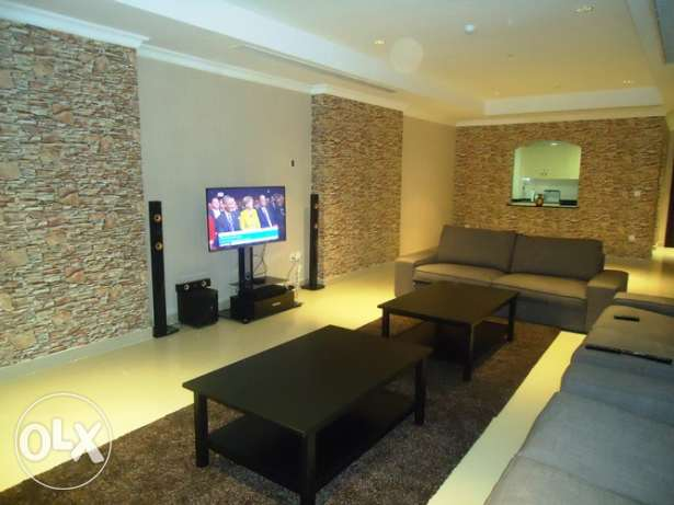 Semi Furnished 1 bedroom big size apartment