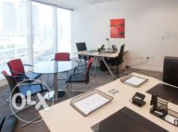Furnished Office at 7,500. Suitable for new business setups !