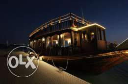 Traditional Wooden Dhow For Sale