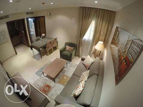 Brand new 1 bhk fully furnished flat in Doha jaded for family