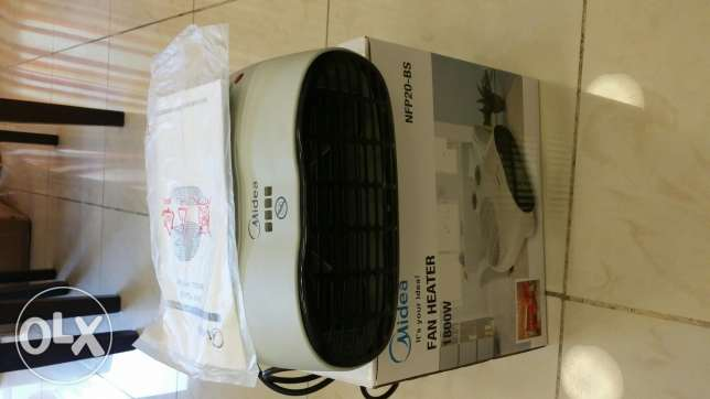 Midea Electric Fan Heater
