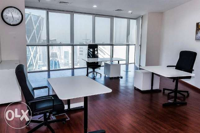 Cost Effective Furnished Office/License in FG Business Center الخليج الغربي -  8