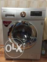 LG washing machine (washer + dryer) rarely used