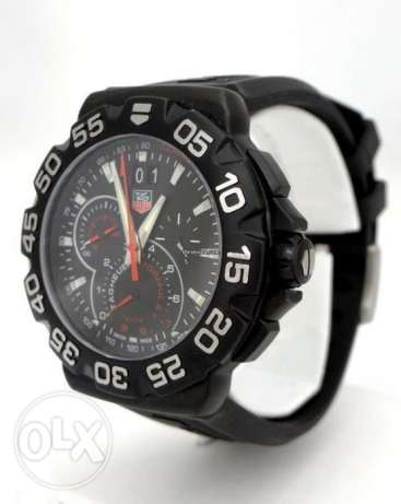 TAG Heuer Formula 1 Grand Date Black Stainless Steel Wrist Watch