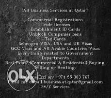 All Business related in Qata
