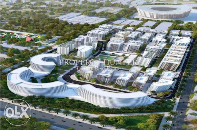 Two bedrooms home ideally positioned within the Lusail project