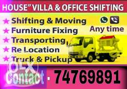 House,Villa& Office Shifting Moving