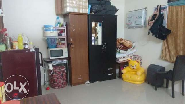 1 BK / STUDIO (FURNISHED) - 01st April Onwards