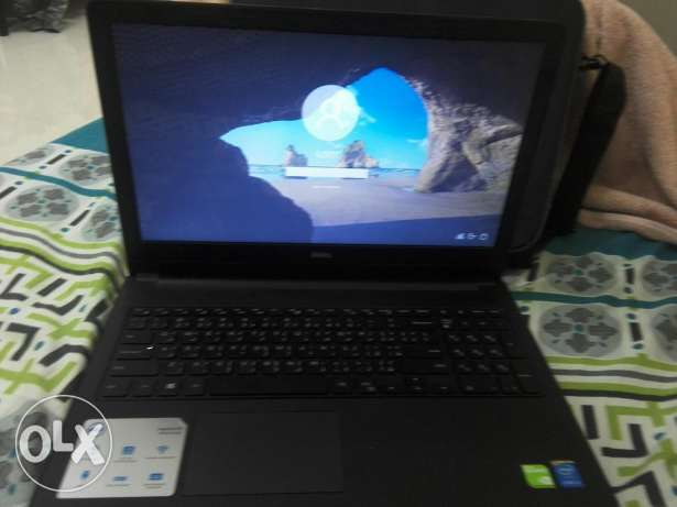 Dell core i5 4gb ram hd camera hd display 5 month use only full box