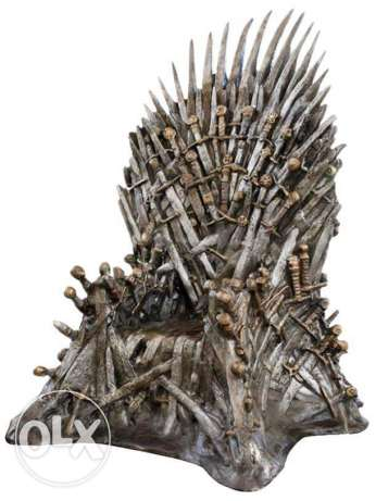 Iron throne life-size replica