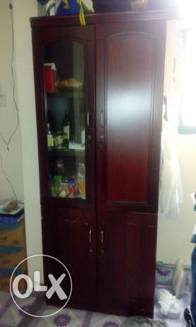 Wooden cupboard- urgent sale