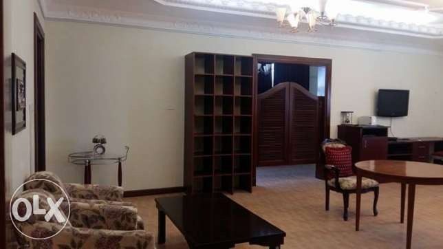 Fully Furnished Massive 1 Bedroom Villa Apartment With Pool In Dafna الدفنة -  2