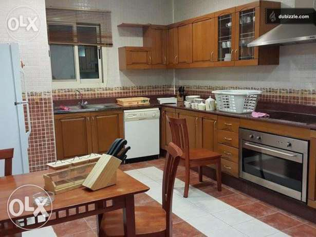 CHANCE!! FF 3-BR Flat in Bin Mahmoud +Office Room+Gym,QAR.10000