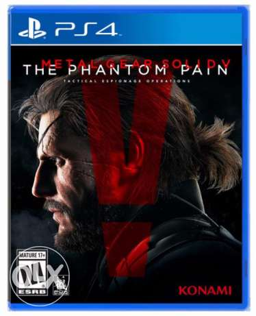 metal gear solid V The Phantom Pain (PS4)