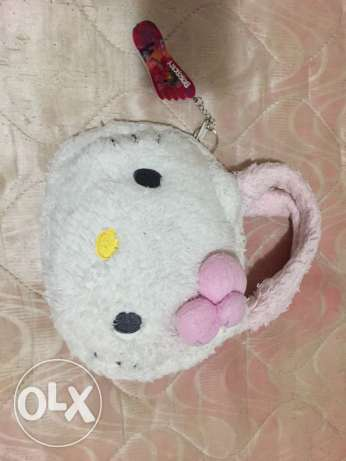 Used Cute Small Hello Kitty Original bag for Sale for only 40QR