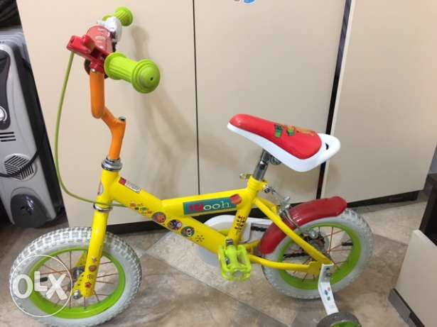 Children bike- winie the pooh bike