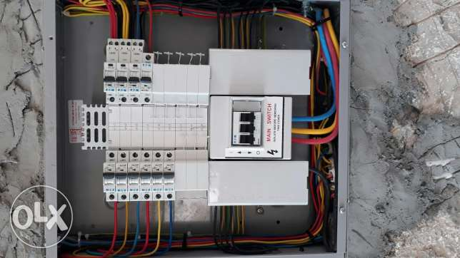 Maintanage or new Eletrical any work with contructs