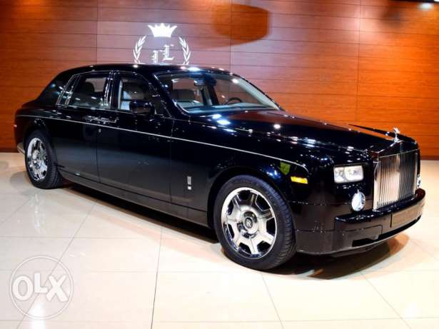 2006 Rolls Royce Phantom, GCC Specs (Rear Entertainment Package and Ta