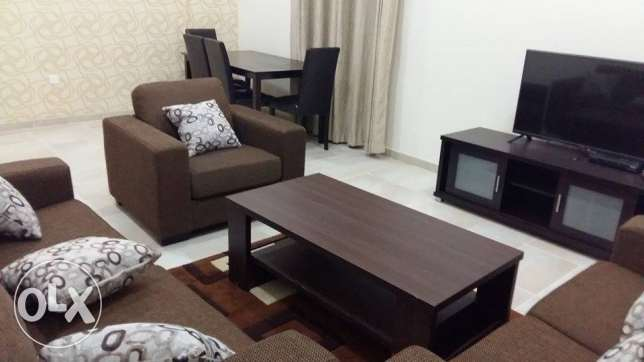 fully furnished 2 bhk flat in al Al Nasr, 7300 QR النصر -  3
