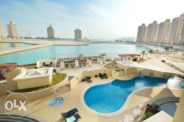 1 Bed modish Home with marina view